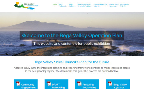 Bega Valley Shire Council Operation Plan